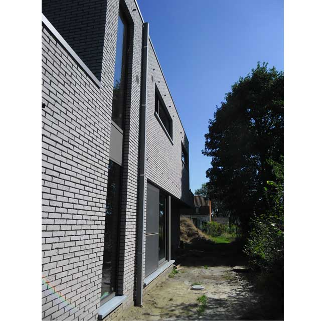 moderne villa Zwijnaarde - Hparchitect